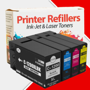 Printer Refillers Canon 1200xl 4-pack