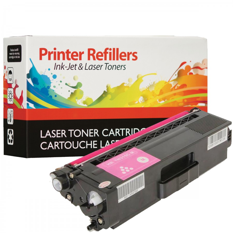 Brother TN-315 Magenta High Yield -Compatible with the TN-310 Low Yield