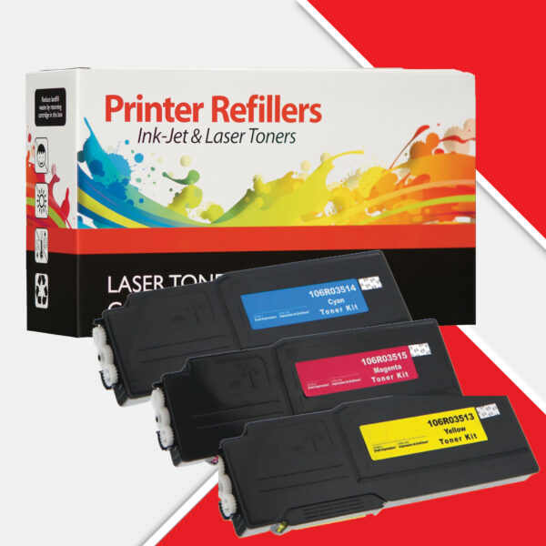 Printer Refillers Xerox C400 C405 3 pack colour